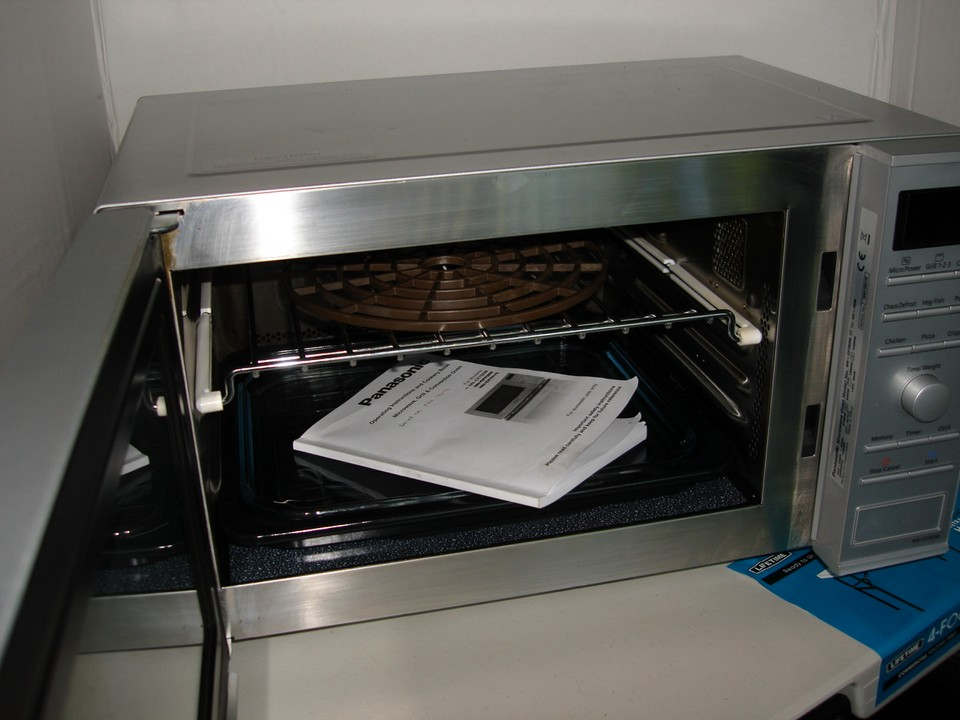 Panasonic Inverter Microwave Grill Amp Convection Oven